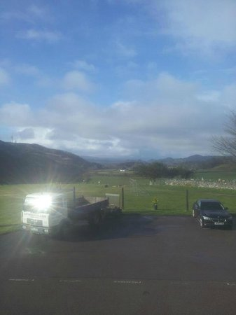 Kilmartin Hotel : what we woke up to in the morning :)