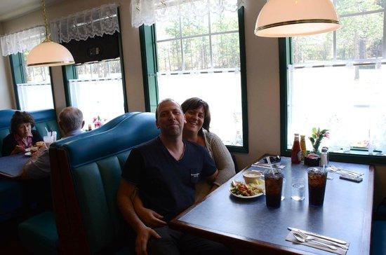 Buck Meadows Restaurant and Bar : Foto ricordo scattata da Leta