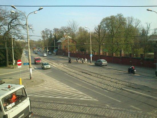Green Hostel Wroclaw: Widok z okna pokój nr 9