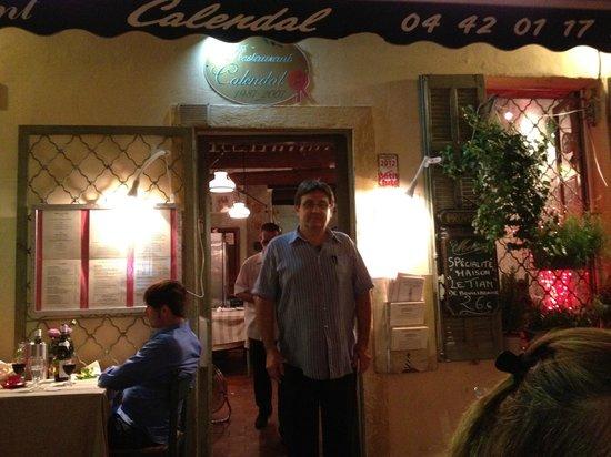 Restaurant Calendal: calendal