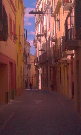 Vilanova i la Geltrú, España: vilanova i la geltru heeft een historishe centrum.