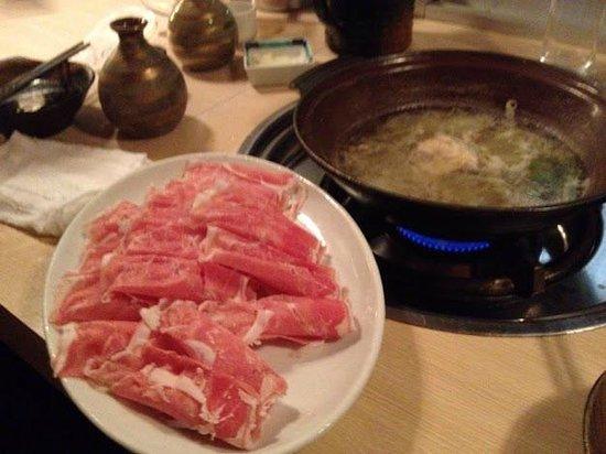 Ramushabukinnome: 二人前(?)のラム肉