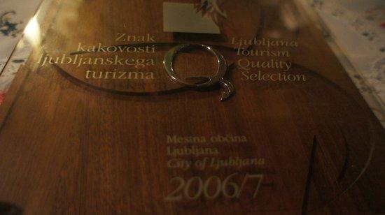 Taverna Tatjana: Recognition
