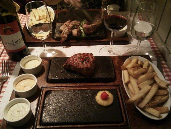 Rolli's Steakhouse Oerlikon: 150 g steak special