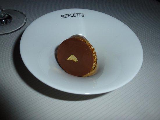 Reflets Par Pierre Gagnaire: chocolate and salt caramel 1 of many desserts
