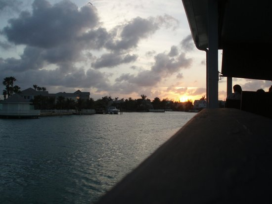 Sandyport Beach Resort: Sunset at the Twisted Lime