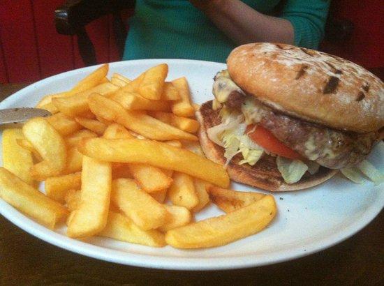 Sam Wellers: Cheeseburger!