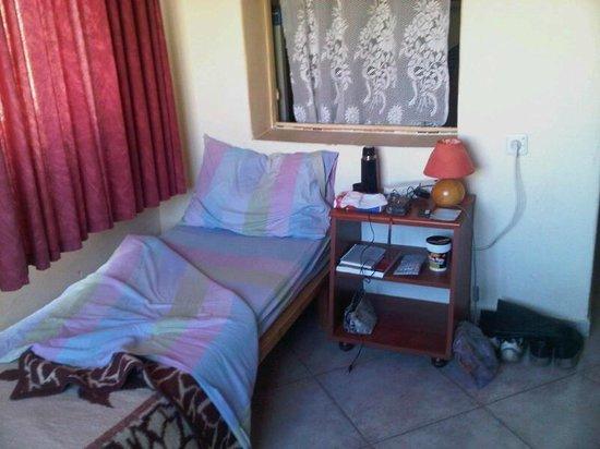 Port Inn: The 8-bed dorm room - my little corner