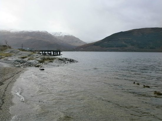 Rowardennan Hotel: View from grounds