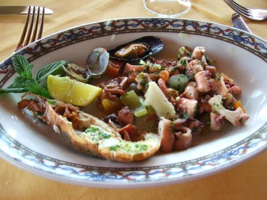 Hotel la Playa : Sea Food Starter