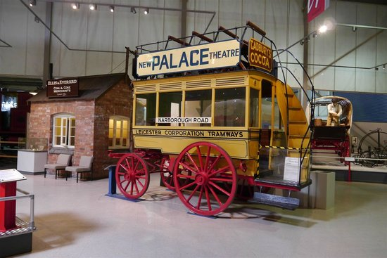 Snibston Discovery Museum and Country Park: Horse Drawn Tram