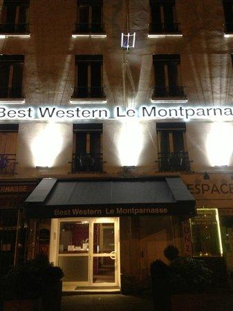 Best Western Hotel Le Montparnasse: hotel ingresso