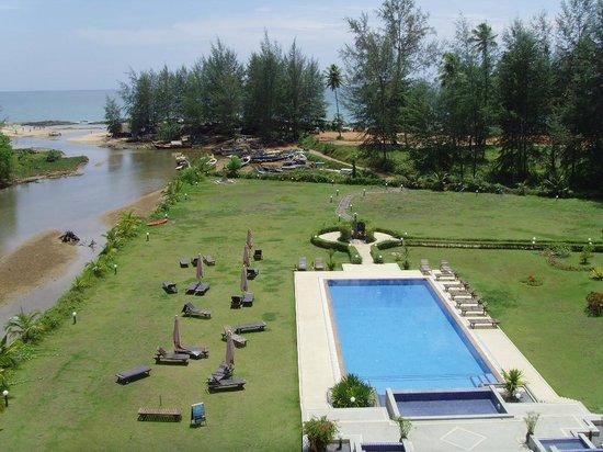 Khao Lak Riverside Resort & Spa : Zimmer Richtung Meer