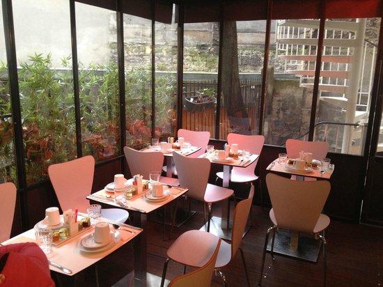 Best Western Hotel Le Montparnasse : sala colazioni