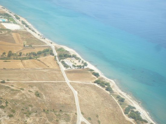 Olympia Mare: Aerial View