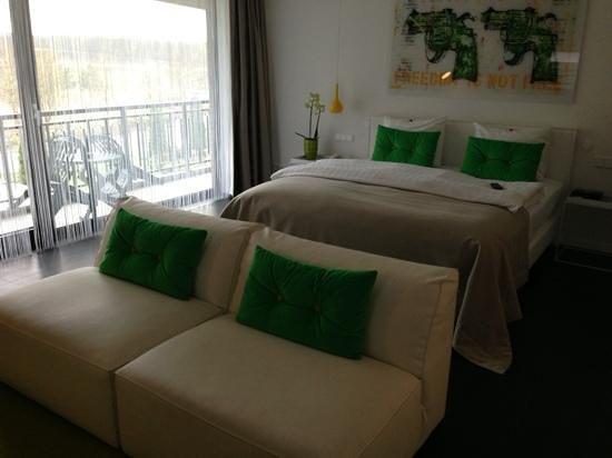 Van der Valk Hotel Berlin Brandenburg: green suite