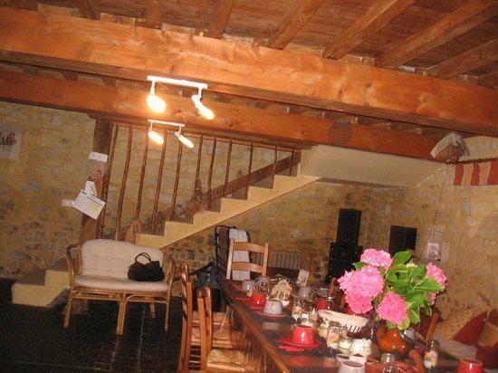 La Ferme de Montigny : salle de petits déjeuners