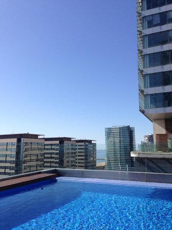 AC Hotel Barcelona Forum by Marriott : Hotel Pool