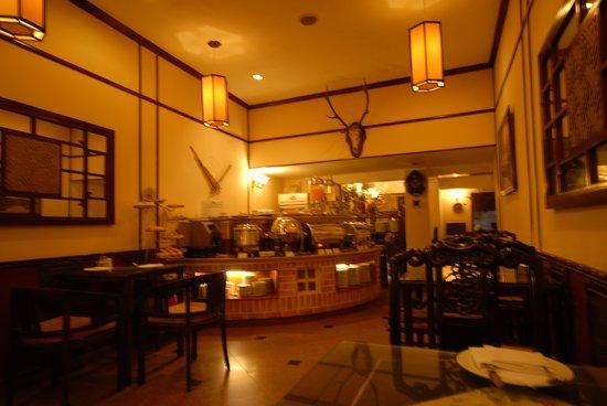 Hong Ngoc Tonkin Hotel : Breakfast area