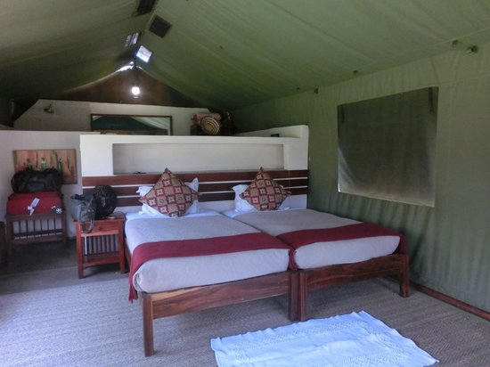 Elephant Valley Lodge: Tenda