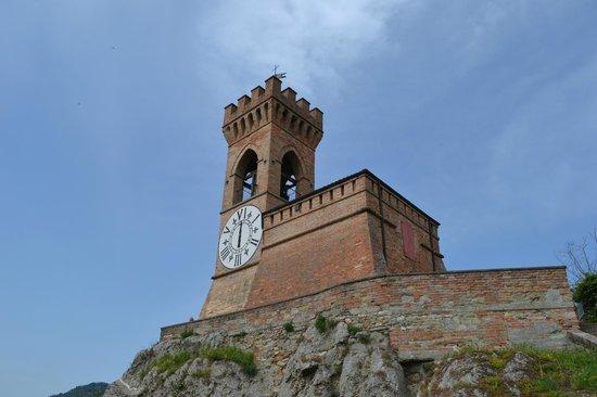 Rocca di Brisighella: Torre dell'orologio