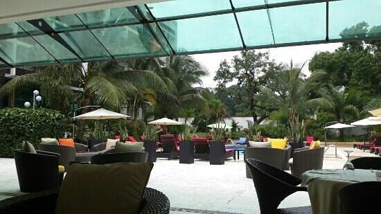 Hotel Olympic Palace : le plus beau hôtel de brazza.