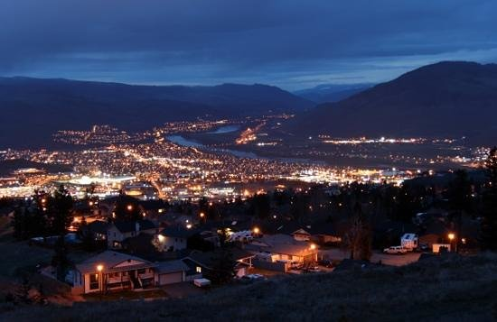 Four Points by Sheraton Kamloops: kamloop city lights