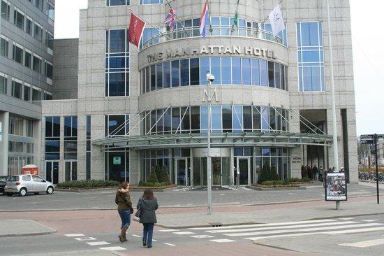 Rotterdam Marriott Hotel: Entrada