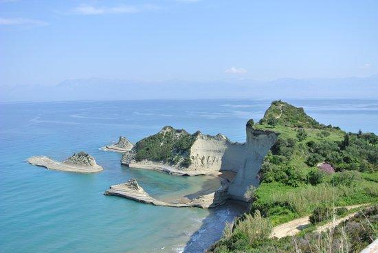 Sidari, Grèce : vue magnifique