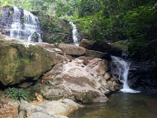 Kubah National Park: At last..waterfall..:)