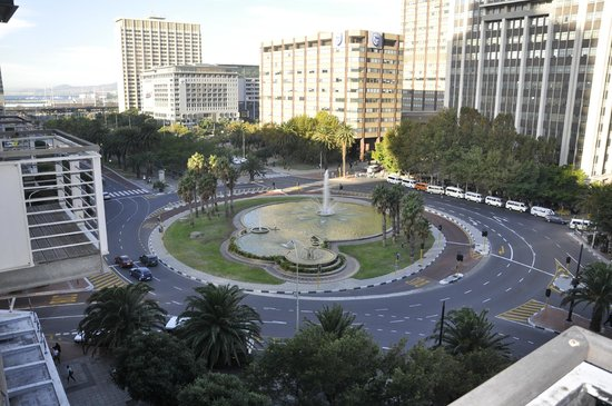 Fountains Hotel: View from Fountain Hotel & Apartments - Cape Town