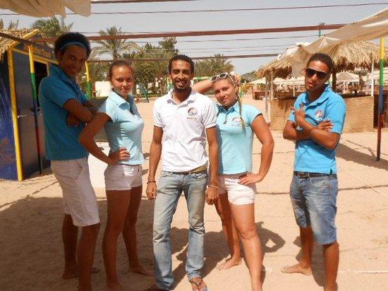 Menaville Resort : animation team