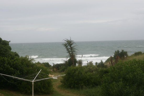 Cristal Cove Guesthouse & Backpackers: Eckzimmer mit Meerblick....