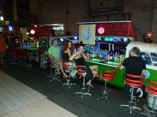 Citadines Sukhumvit 11 Bangkok: Cocktail camper vans on the same street!