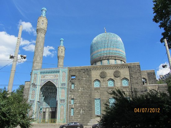The Great Mosque of St. Petersburg: Beautiful structure