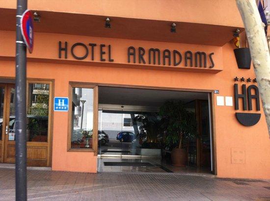 Hotel Armadams: Entrata hotel