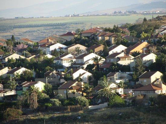 Kibbutz Lavi Hotel: View from kibbutz