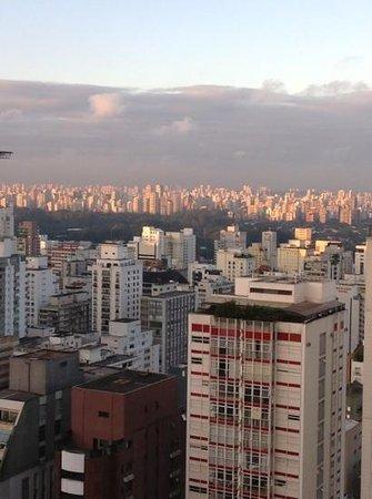 Tivoli Mofarrej - Sao Paulo: vue depuis la chambre au 20e etage