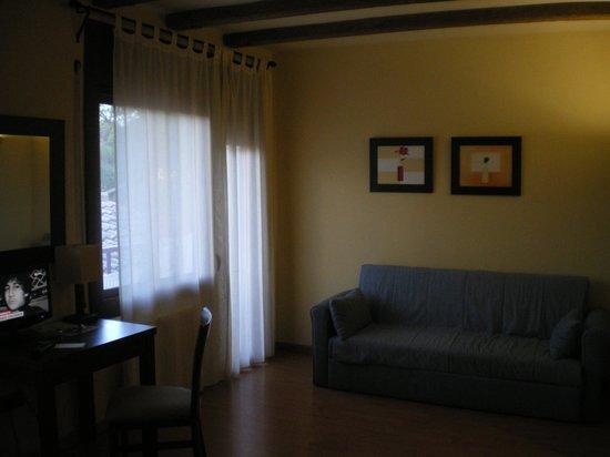 Hostal del Senglar : sofá