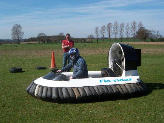 Flo-ridaz Hovercraft: We have lift-off !
