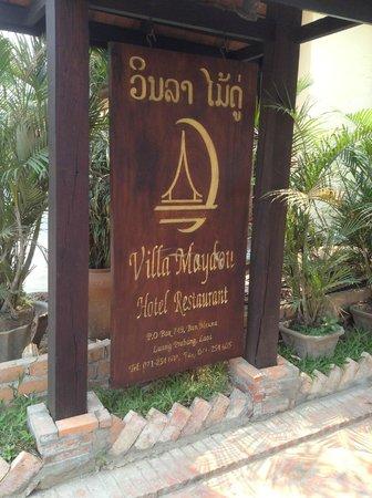 Villa Maydou: Entrée de l'hotel