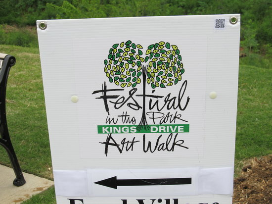 Little Sugar Creek Greenway : Spring Art Walk