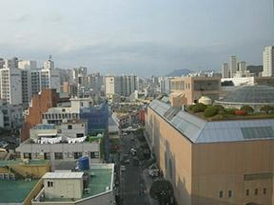 Hotel Nongshim: View from our room