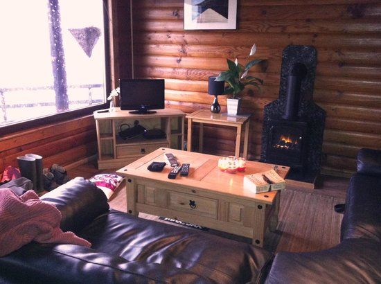 Highland Lodges : Louge area