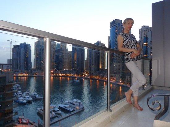 Nuran Marina Services Residences: marina view