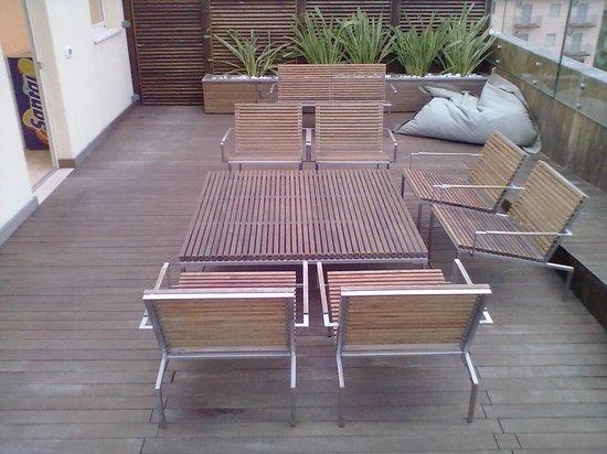 Hotel Commodore: terrazza spa ultimo piano