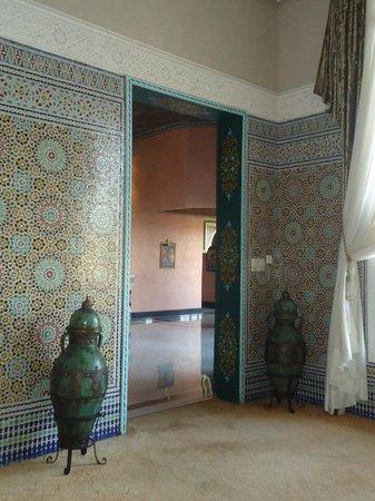 Ryad Mogador Kasbah: Salon marocain