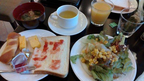 Solvita Hotel Naha: Breakfast at Hotel Solvita