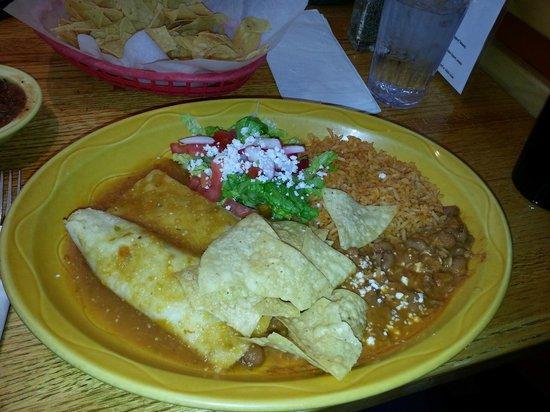 Ed's Cantina & Grill: Enchiladas