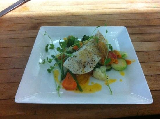 The Garrison House : Halibut Feature